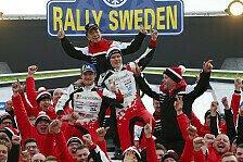 WRC Rallye Schweden 2019: Fotos von Loeb, Grönholm und Co.