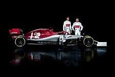 Formel 1 2019, Alfa Romeo präsentiert: Sauber-Name bleibt