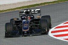 Formel 1, Testfahrten 2019: Schmerzen stoppen Magnussen