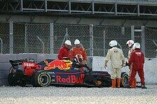 Formel 1 Test Barcelona: Gasly erklärt ersten Red-Bull-Crash