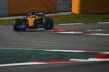 Formel-1-Test, McLaren wieder auf P2: Die Zuversicht ist zurück
