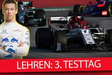 Formel 1 - Video: Formel-1-Tests 2019: Die Lehren des 3. Testtages in Barcelona
