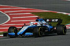Formel 1, Williams: Test-Debakel nicht das Ende der Welt