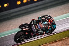 MotoGP-Test Katar: Rookie Quartararo an Tag zwei in den Top-3