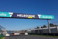 Bilder: Vorbereitungen zum Formel-1-Saisonauftakt in Melbourne
