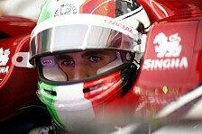 Formel 1, Giovinazzi gesteht: Qualifying ist meine Schwäche
