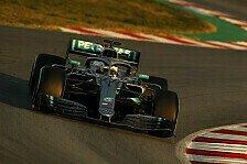 Formel-1-Test, Mercedes atmet auf: Neues Aero-Paket ist besser