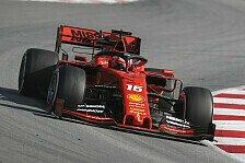 Formel 1 Testfahrten: Ferrari holt Hammer raus, Red Bull crasht