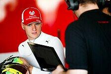 Mick Schumacher: Formel-2-Testfahrten in Barcelona