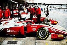 Formel 2: Schumacher verpasst Podium, Ghiotto überragt