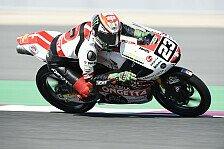 Moto3 Motegi 2019: Niccolo Antonelli aus Q1 zur Pole
