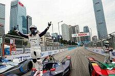Formel E Hongkong: Bird verliert Sieg wegen Lotterer-Crash