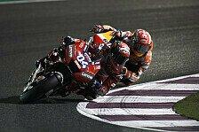 MotoGP-Analyse: Dovizioso bremst Rins um Marquez zu schlagen