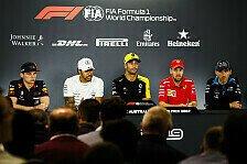 Formel 1 - Vettel, Hamilton, Verstappen: Das erste Treffen 2019