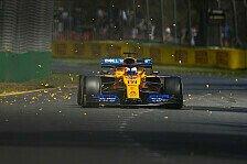 Formel 1: McLaren verliert erste MGU-K, Sainz schon am Limit