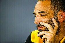 Formel 1, Renault-Teamchef nach Strafe sauer auf Racing Point