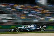 Formel 1, Australien: Mercedes hängt Ferrari im 2. Training ab