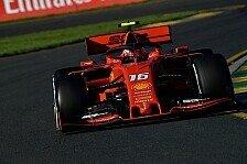Formel 1 Australien, Leclerc schimpft mit sich: Schlechter Job!