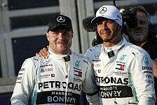 Mercedes-Stallkrieg? Lewis Hamilton winkt ab: Nicht mit Bottas