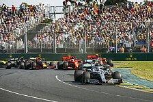 Formel 1, Australien: Reifenwahl für erstes Rennen 2020 steht