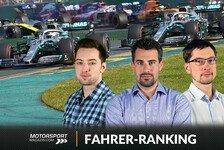 Formel 1 Australien: Bestnoten für Bottas im Fahrerranking
