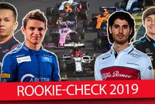 Formel 1 - Video: Formel 1 2019: Rookie-Zeugnisse nach Melbourne