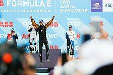 Formel E 2019, Sanya: Die besten Fotos vom Rennen in China