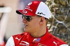 Formel 1 & Formel 2: Mick Schumacher vor Mega-Woche