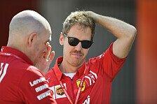 Formel 1, Vettel besorgt: Hat Ferrari die richtigen Antworten?