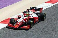 Mick Schumacher bei Formel-2-Qualifying in Bahrain in Top-10