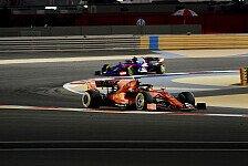 Formel 1, 2. Bahrain-Training: Vettel & Ferrari in eigener Liga