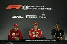Formel 1 Bahrain Ticker-Nachlese: Ferrari in der ersten Reihe