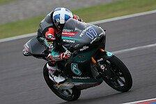 Moto3 Valencia 2020: John McPhee fährt im Regen zur Pole