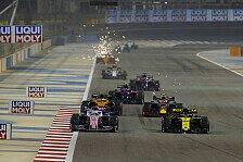 Formel 1: Teams müssen neuen 2020er-Kalender nicht absegnen