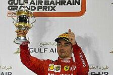 Formel 1, Leclerc erlebt Bahrain-Drama: Motor raubt Sieg