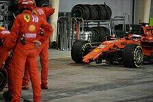 Formel 1, Sebastian Vettel: Bahrain-Dreher voll mein Fehler