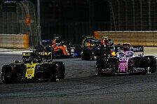 Formel 1, Hülkenberg: Neue Flügel beim Überholen keine Hilfe