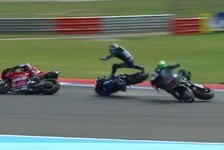 MotoGP: Morbidelli räumt Vinales ab, das sagen die Unfallgegner