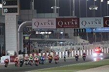 MotoGP sagt Katar-GP ab, nur Moto2 und Moto3 am Start