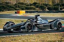 Formel E: Mercedes-Meilenstein: Erster Test mit E-Silberpfeil