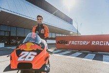 MotoGP: Dani Pedrosa bei Bikeanpassung in Salzburg