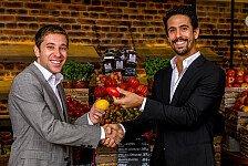 Formel E - Di Grassi und Frijns im Interview: Obst statt Beef