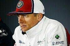Formel 1 - Kimi Räikkönen: F1 jetzt wie ein Hobby für mich