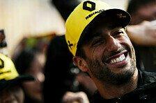 Formel 1, Ricciardo gesteht: 2018 im Vertragspoker verzockt