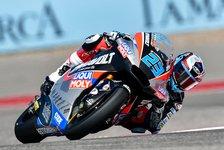 Moto2 Austin: Schrötter und Lüthi dominieren Training