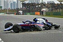 Formel 1, Albon von China-Crash unbeeindruckt: Keine Reue