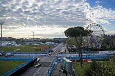 Formel E Rom: Training bei Sonnenschein - wann kommt der Regen?