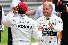Formel 1 vor zwei Jahren: Unser täglich Bottas gib uns heute...