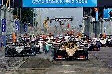 Formel E Rom: Evans holt ersten Jaguar-Sieg - Lotterer Zweiter