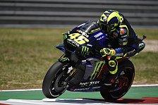Valentino Rossi erster Marquez-Jäger: Wo ist die Yamaha stark?